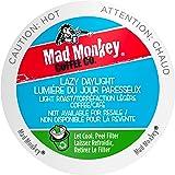 Mad Monkey Single Serve Coffee Capsules, Lazy Daylight, 48 Count