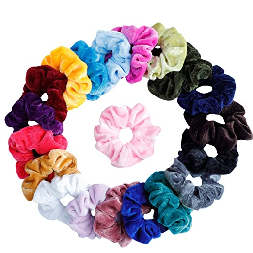 hair scrunchies stocking stuffer holiday gift guide for her