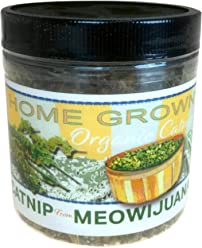 Meowijuana Catnip, Feline Approved, Infused with Maximum Potency Your Cat is Guaranteed to go Crazy for!