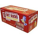 Suet To Go Peanut and Cherry Suet Block Wild Bird Treat, 10 x 300 g