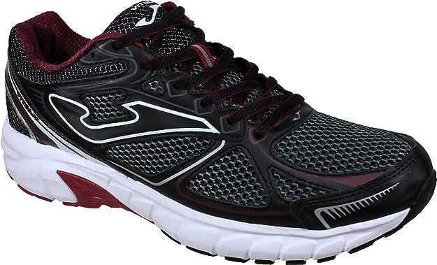Joma VITALY Men 922 Negro-Burdeos - Zapatillas Running Hombre (40 EU, Negro): Amazon.es: Zapatos y complementos