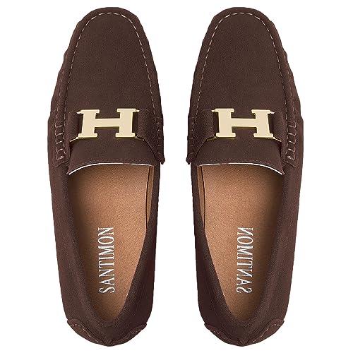 Mocasines para Hombre Cuero Mocasín Zapatos Zapatillas de Boda Vestir Moda Terciopelo Casual: Amazon.es: Zapatos y complementos