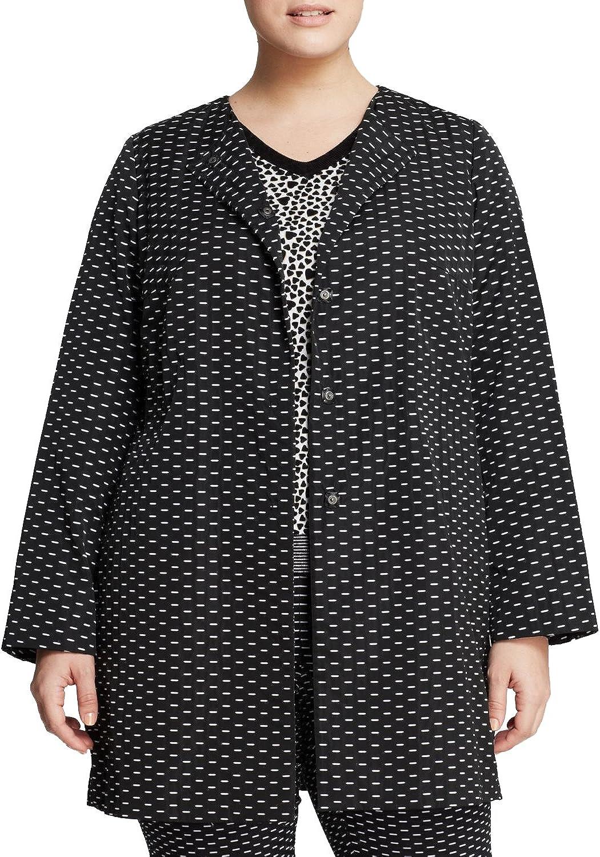 Marina Rinaldi Women's Tango Snap Button Dash Coat