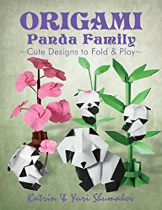 Origami Panda Family: Cute Designs to Fold and Play