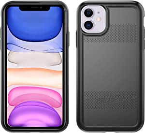 Pelican iPhone 11 Case, Protector Series – Military Grade Drop Tested, TPU, Polycarbonate Protective Case for Apple iPhone 11 (Black)