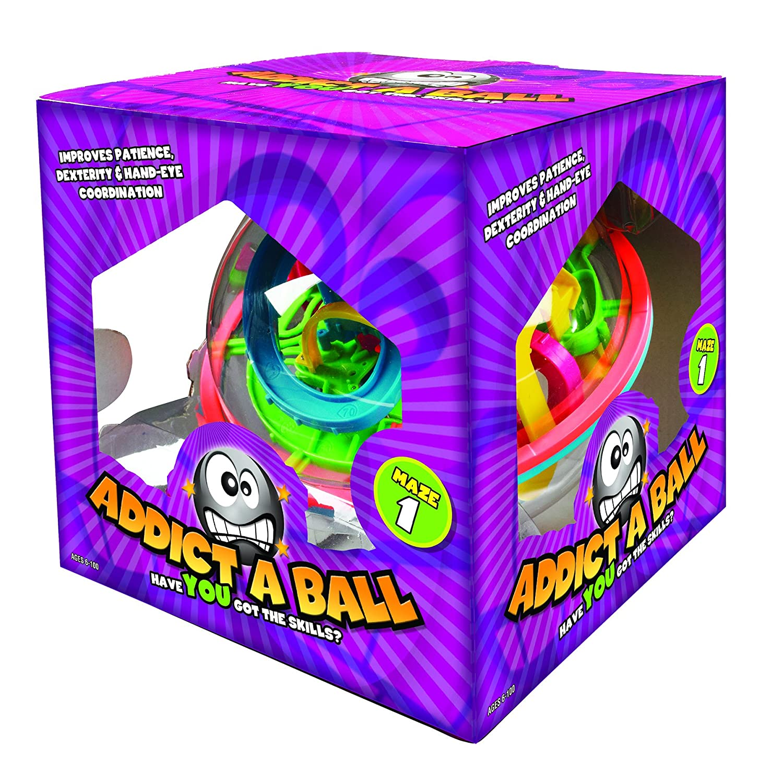 Addict-A-Ball 501080 Kugellabyrinth Spiel, 20 cm/L Invento Addictaball Large