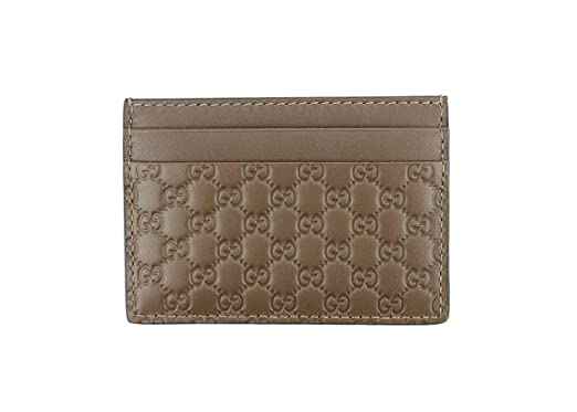 f3b237b0f4aa Image Unavailable. Image not available for. Color: Gucci Microguccissima  Signature Leather Card Case ...