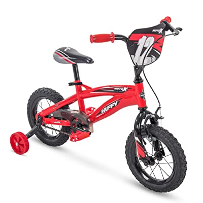 "Huffy 12"" MotoX Boys Bike, Gloss Red : Cycling Equipment : Industrial & Scientific"