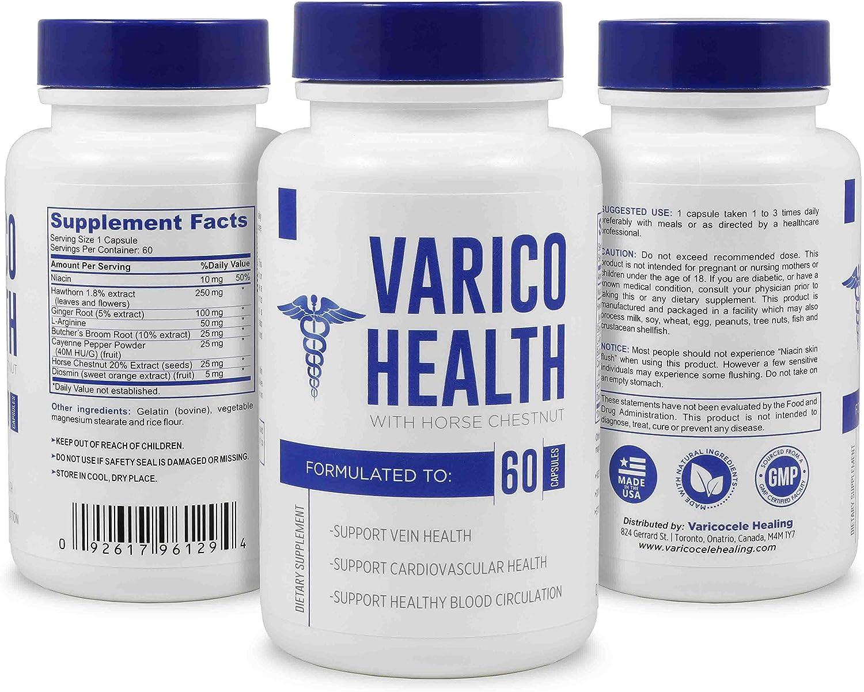 Natural kit varicocele cura de