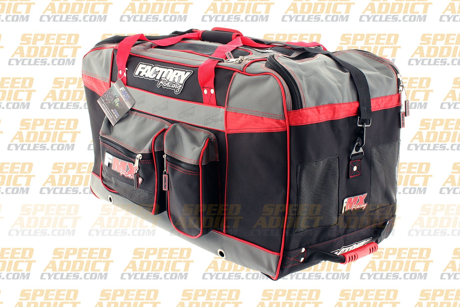 Factory FMX Motorcross Gear Bag XLarge Red by Factory Racing (Image #4)