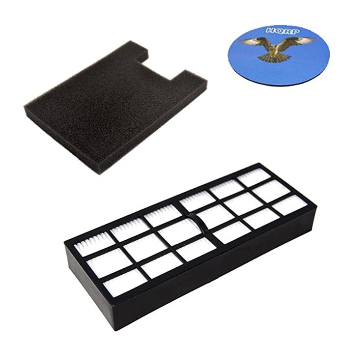 HQRP Filter Kit for Eureka SurfaceMax 300 2976AVZ / Surface Max 200 2977AV Upright Vacuum Cleaner, Parts HF-7 DCF-16 Replacement Coaster