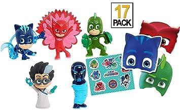 Trendy Tendency PJ Masks Juguetes –5 PJ Masks Figuras /12 Pjmask Mask & PJ Mask Juguetes Buhita Romeo Gatuno/ Juguetes Niños 3 Años, 4 Años/ Juguetes ...