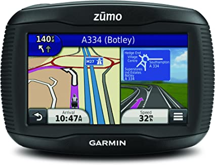 Garmin Zumo 395LM EU Navigatore per Moto Mappa Italia e Europa Completa Display 4.3 Nero