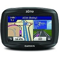 """Garmin Zūmo 390LM Navigatore Moto Impermeabile IPX7 con Schermo da 4.3"""", Mappa Europa Completa e Aggiornamento Mappa a Vita, Nero"""