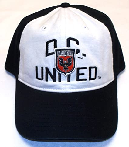 222eb318c5e Image Unavailable. Image not available for. Color  adidas MLS DC United  Slouch Flex Hat ...