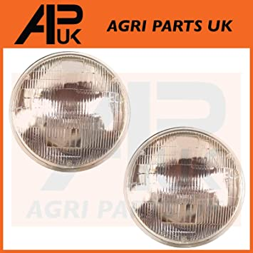 APUK Pair of Matbro Manitou Telehandler Headlight Head Lamp Light Indicator Loader
