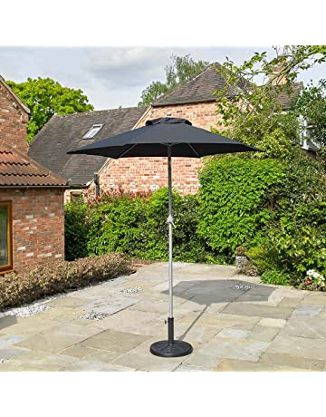ded0789c39ec Amazon.co.uk: Parasols - Parasols, Canopies & Shade: Garden & Outdoors