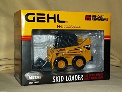Buy DCP GEHL SKID LOADER MODEL 5640E Tractor in 1:25 Scale