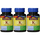 Nature Made Vitamin K2 Softgel, 100 mcg, 30 Count (3)