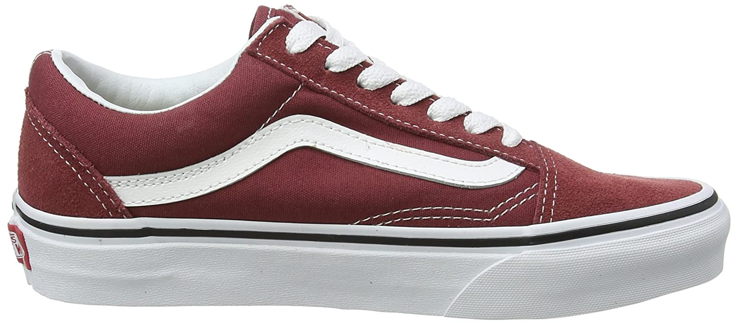 Vans Old Skool Unisex Adults' Low-Top Trainers B074HF2YK4 10.5 M US Women / 9 M US Men|Apple Butter/True White