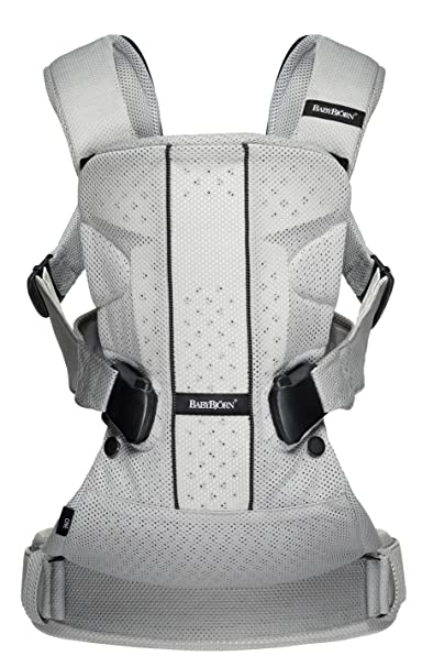 Babybjorn Baby Carrier One   Silver, Mesh by Baby Björn