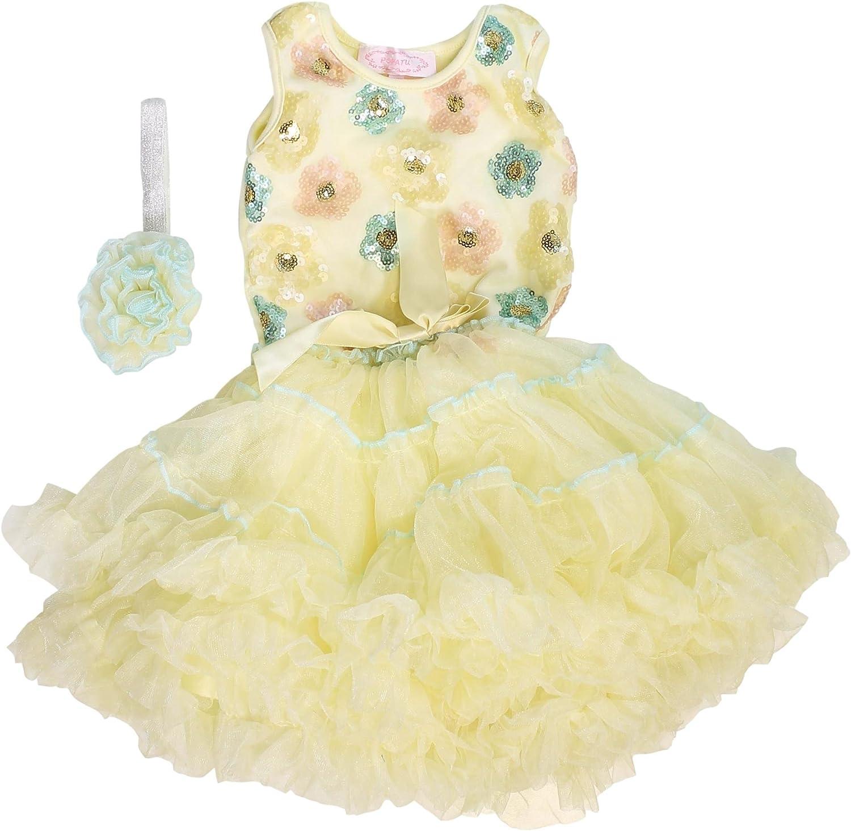 *** Popatu Girls/' Dress Buttercream SELECT SİZE