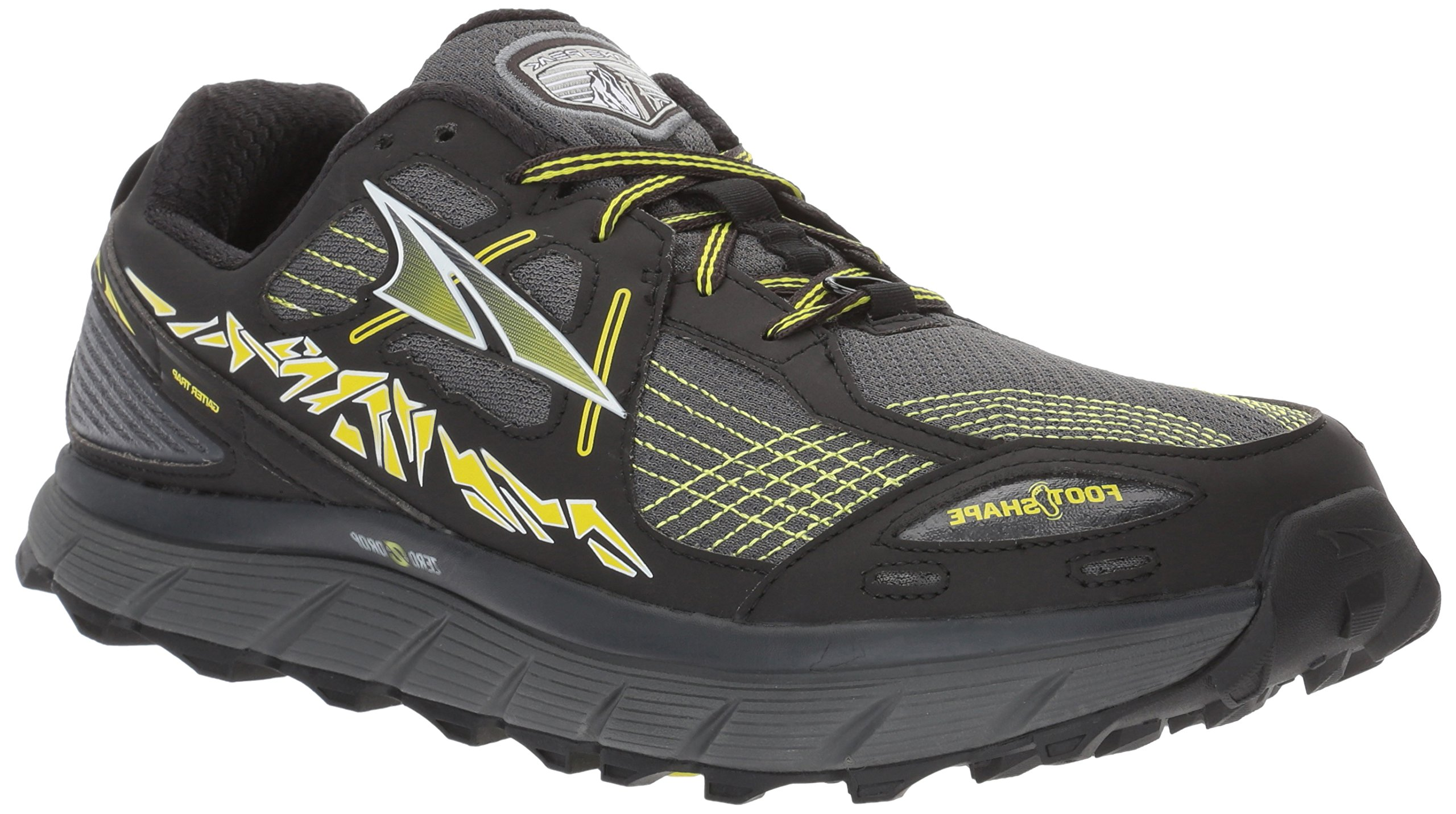 Altra Men's Lone Peak 3.5 Running Shoe, Yellow, 9 D US by Altra