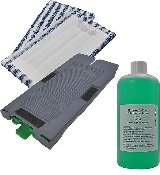 Placa de repuesto paño de limpieza universal Soporte + 2 Paños de ...