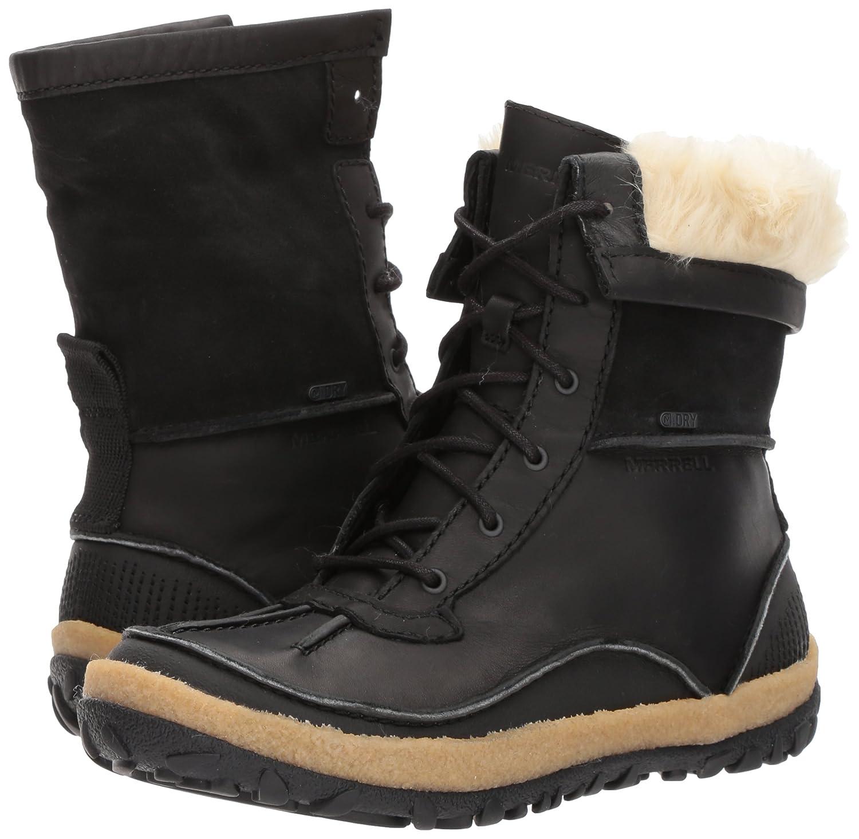 Merrell Women's Tremblant Mid Polar Waterproof Snow Boot B01MSZKC3K 6.5 B(M) US|Black
