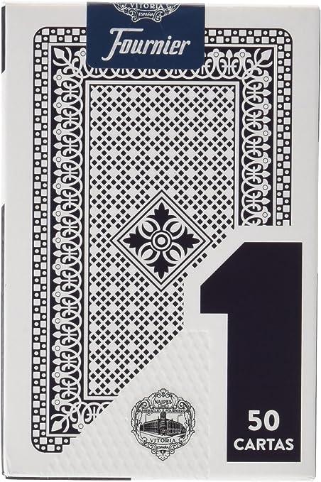 Fournier F20991 - Baraja española Nº 1, 50 cartas, surtido ...
