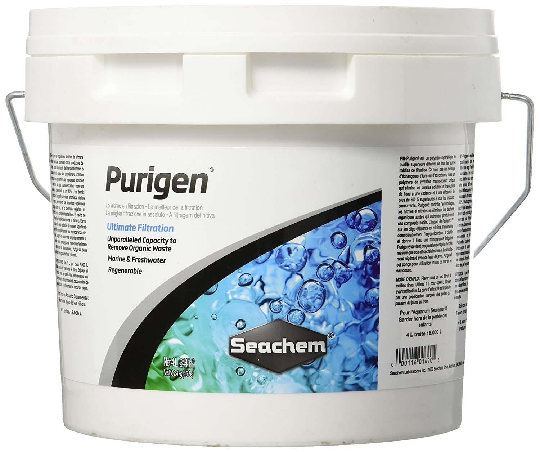 4 Litre Seachem Purigen Freshwater, 4 Litre