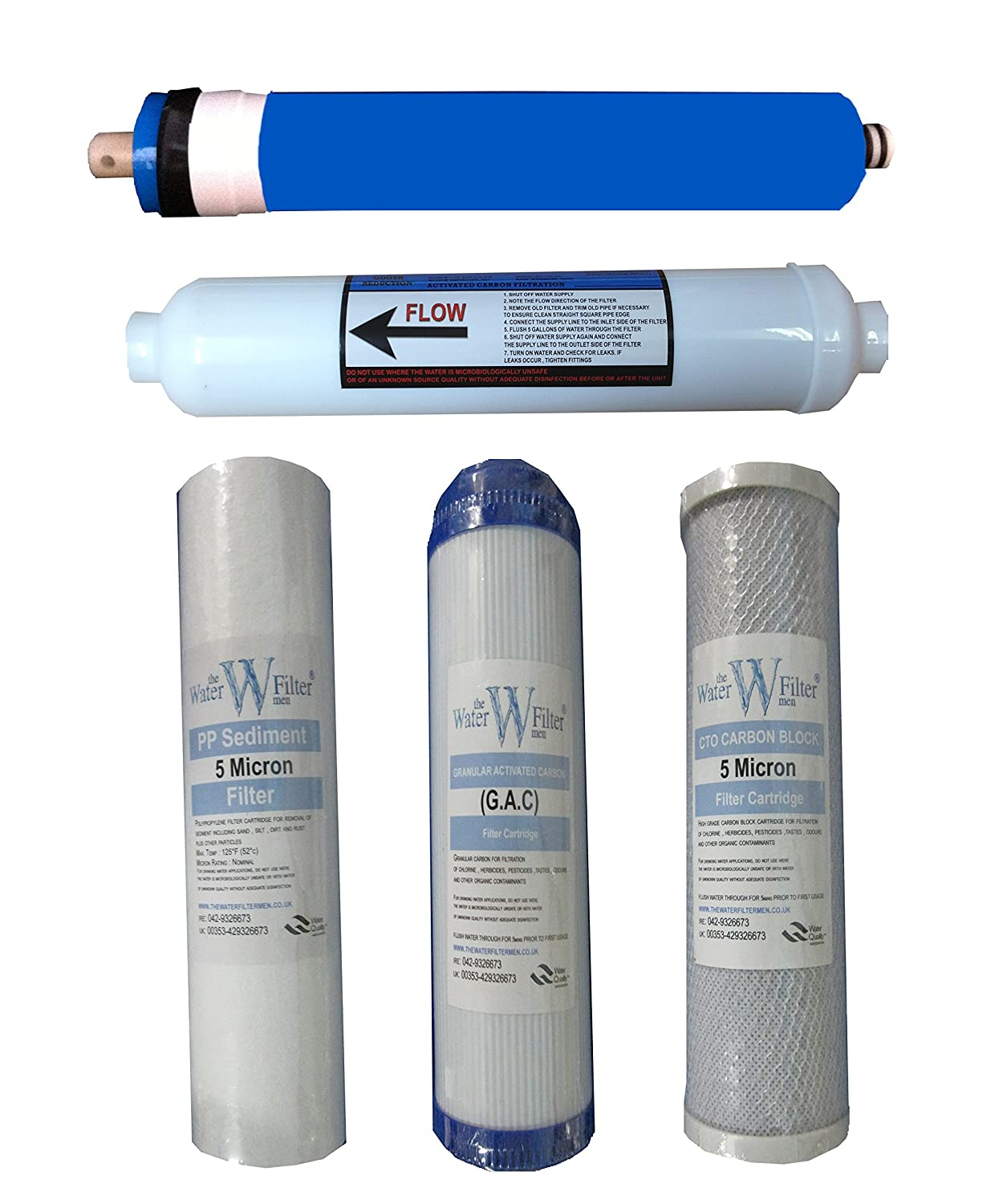 Line Water Filter Amazoncom The Water Filter Men Reverse Osmosis 5 Stage Water
