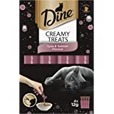 DINE Creamy Treats Tuna & Salmon Cat Treats 12g x 32 pack
