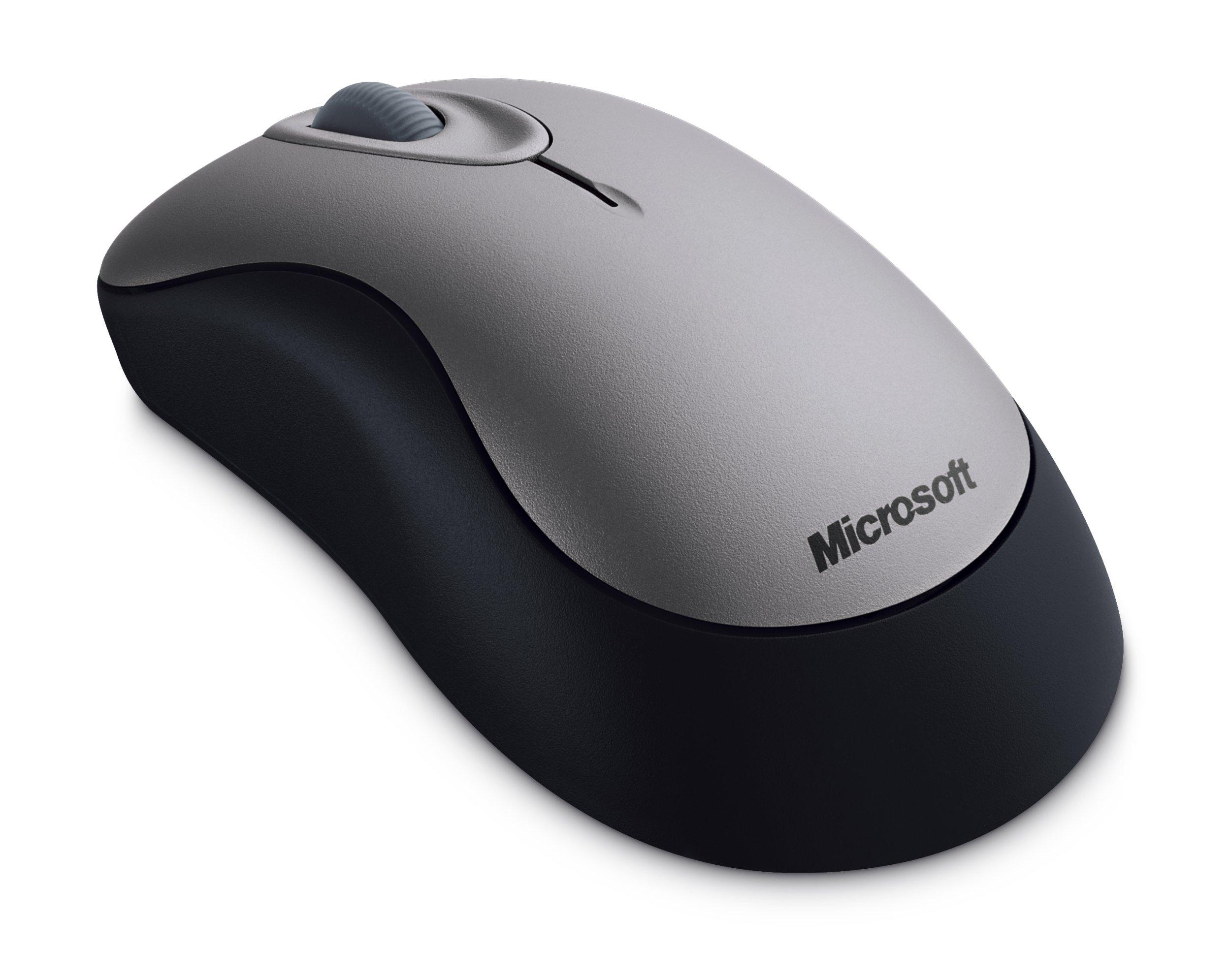 Microsoft Wireless Optical Mouse 2000- Sterling Grey ( 69J-00002 )