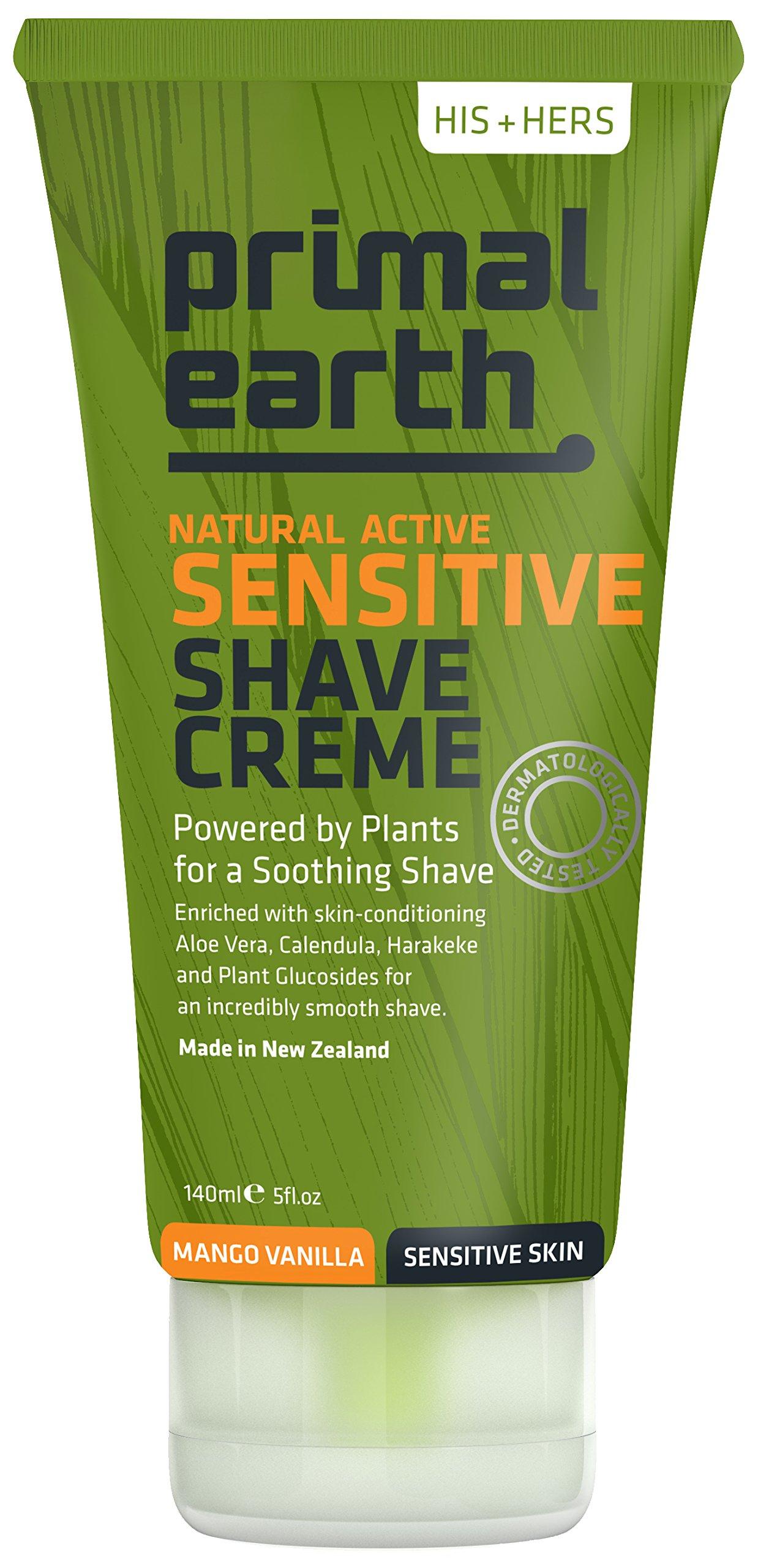Primal Earth Sensitive Shave Creme 140ml (5 oz) by Primal Earth (Image #1)