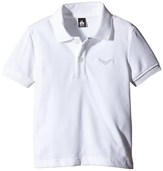 Trigema Mädchen Polo-Shirt Piqué-Qualität, Niños, Blanco (Weiss ...