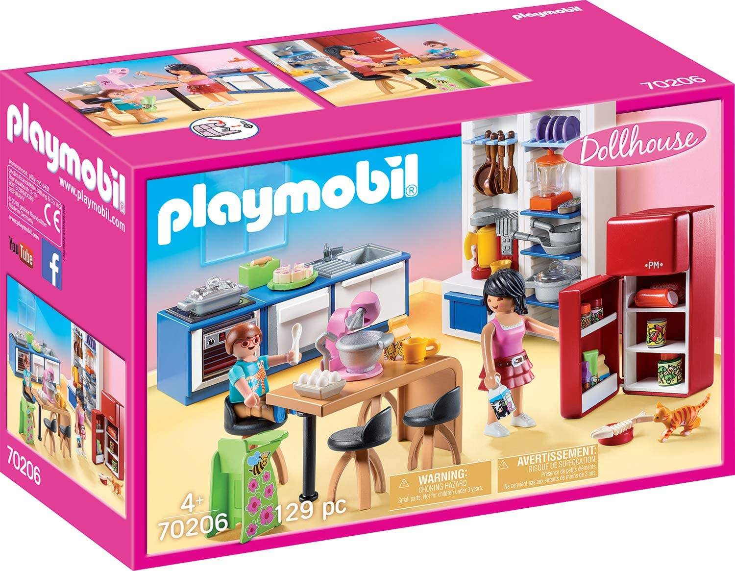 Playmobil Family Kitchen Furniture Pack