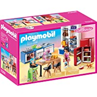 Playmobil 70206 Family Kitchen Playset (129 Piece)