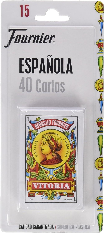 Fournier - Baraja española, 40 Cartas en blíster: Amazon.es: Juguetes y juegos