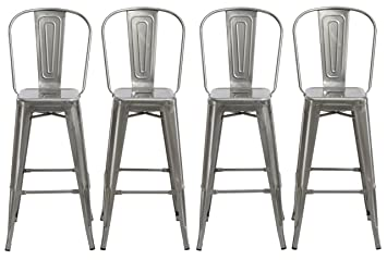 Sensational Amazon Com Btexpert 30 Inch Industrial Clear Metal Squirreltailoven Fun Painted Chair Ideas Images Squirreltailovenorg