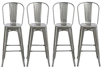 Fine Amazon Com Btexpert 30 Inch Industrial Clear Metal Creativecarmelina Interior Chair Design Creativecarmelinacom