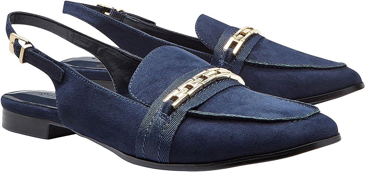 next Mujer Zapatos Zapatillas Estilo Mocasines Tira Trasera con ...