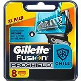 Gillette Fusion Proshield - 4 cuchillas de recambio para maquinilla de afeitar para hombre