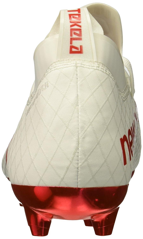New Balance Men's Tekela 1.0 Pro FG Soccer schuhe, Weiß Weiß Weiß Flame Orange, 9.5 2E US 857cf3