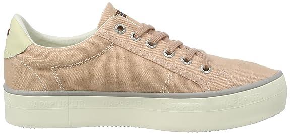 NAPAPIJRI Footwear 14738781 - Tobillo bajo de Lona Mujer, Color Azul, Talla 39 EU