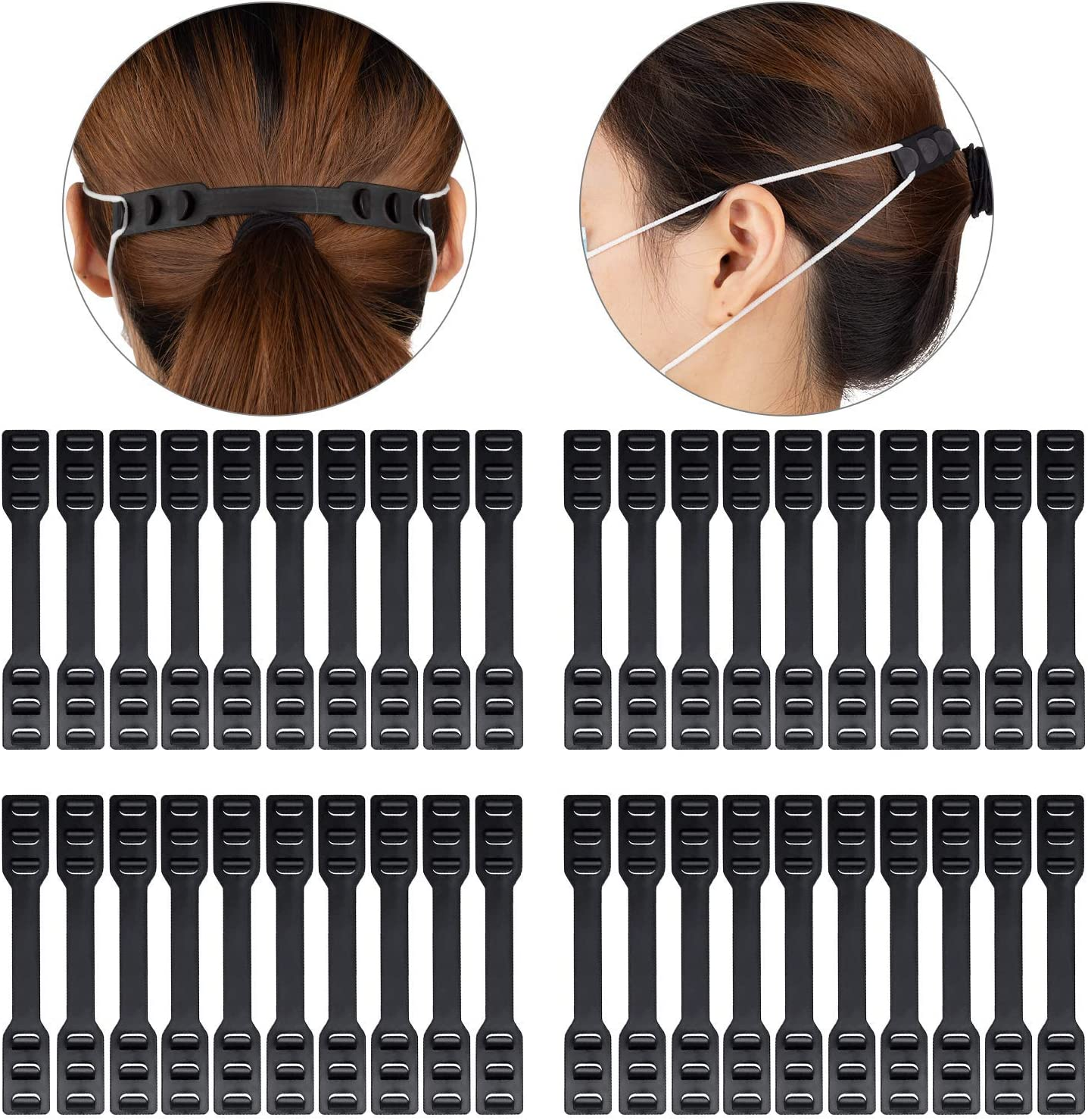 Arbnic Ear Strap Extenders, Anti-Tightening Ear Hooks, Relieve Pain for Your Ears