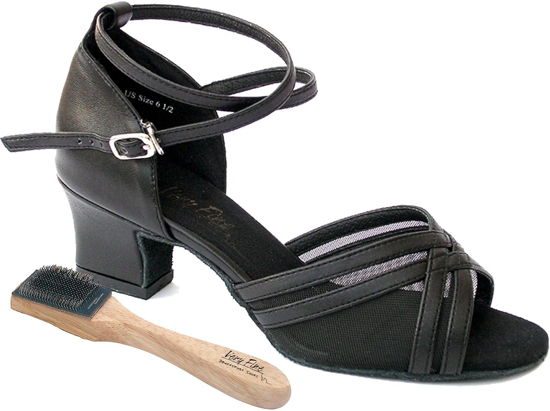 [Very Fine Shoes] レディース B00BZRDIFG ブラックレザー 7 (B,M) US