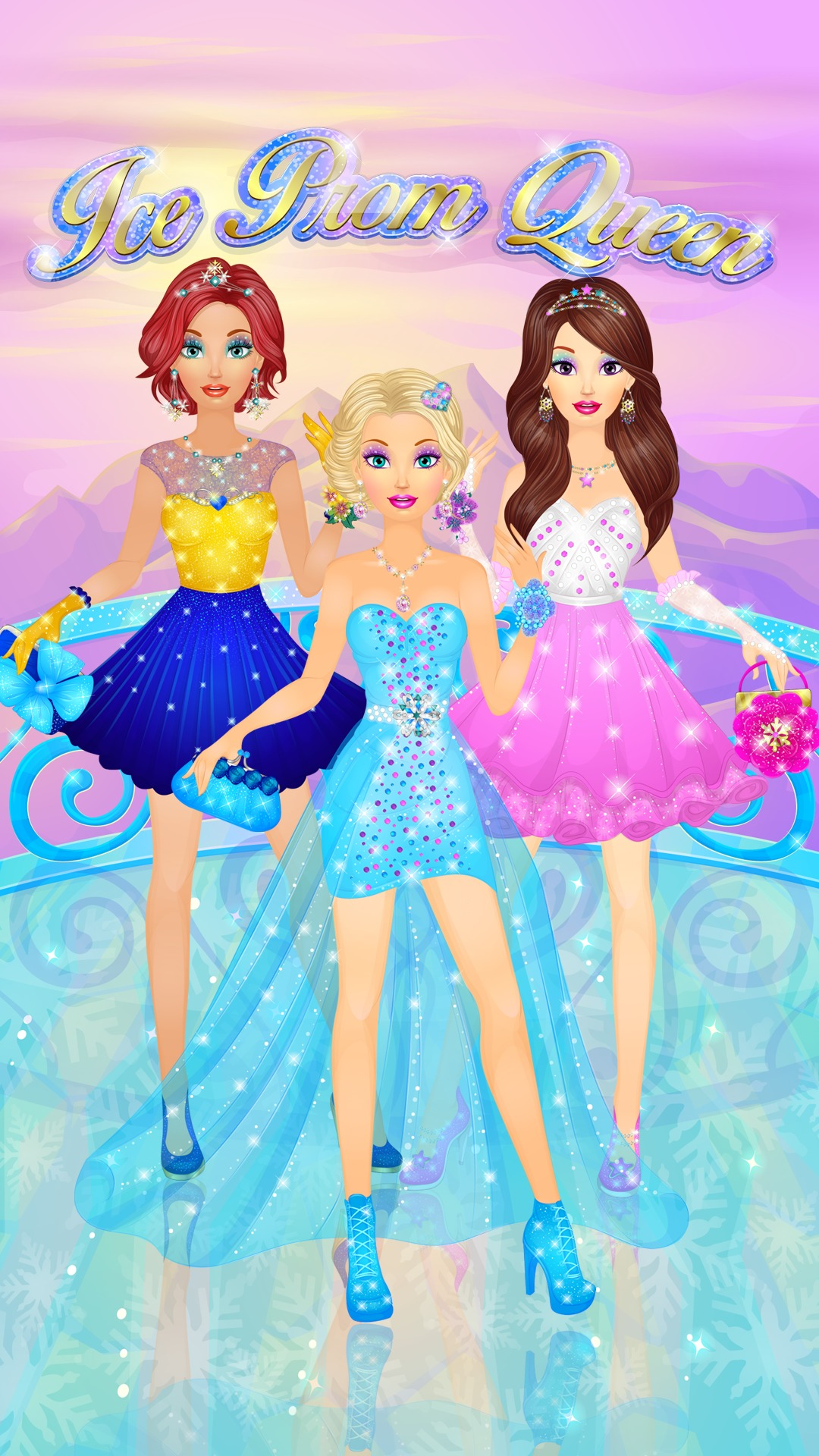 Dress up princess - Amazon Com Ice Prom Queen Salon Princess Spa Makeup And Dress Up Girls Games Appstore For Android