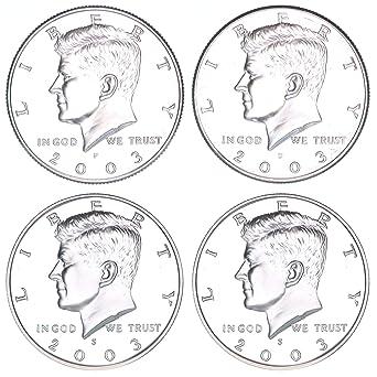 1983 BU Roll Kennedy Half Dollar Coins 20 50c US Coins Philadelphia Clad