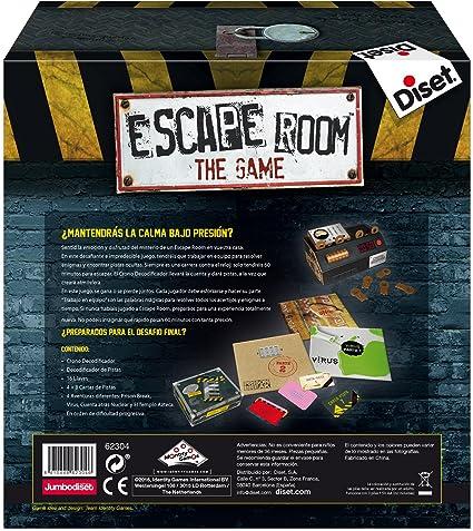 Diset - Escape Room the game (62304): Amazon.es: Juguetes y juegos